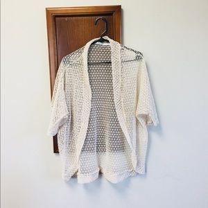 Maurice's crochet knit slouchy sweater